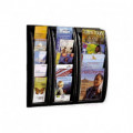 Expositor negro Quick Fit A4 casillas 4 Fast Paperflow